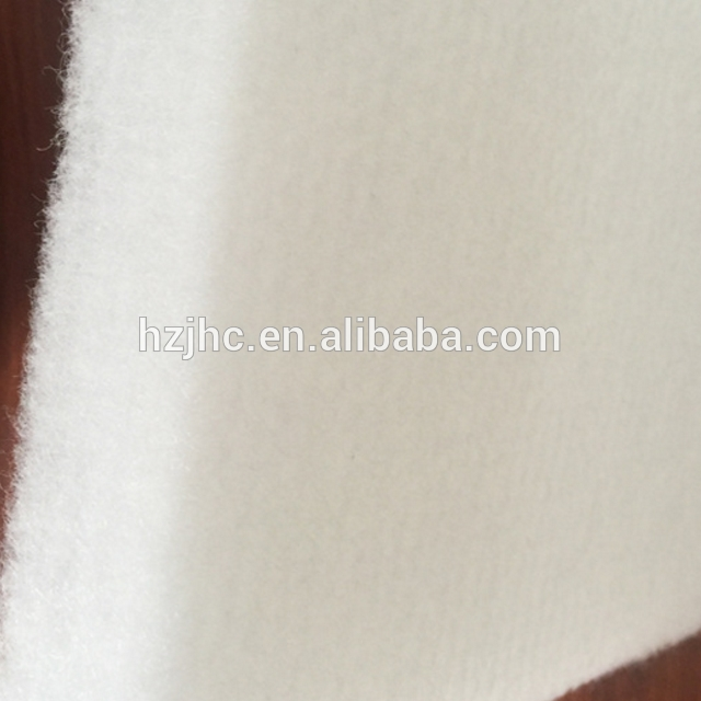 Customized Color Non Woven Fabric Thermal Bonding Fabric Sound Insulation