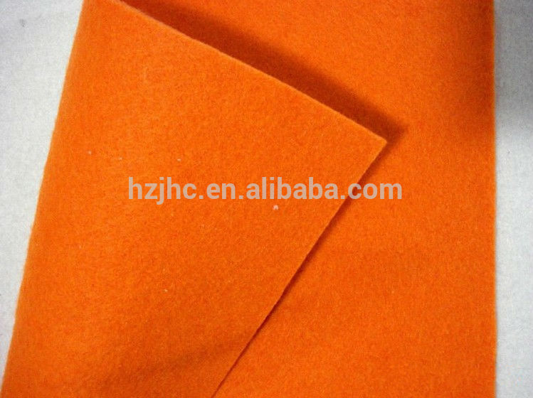 Cheap needle punched nonwoven felt fabric used hair clip design
