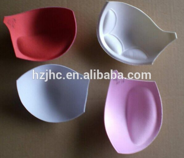 wholesales foam laminated tela roll para sa bra padding