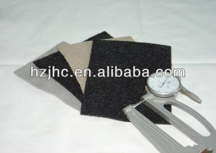 Soundproof classic style polyester needle punched non-woven wallpapers
