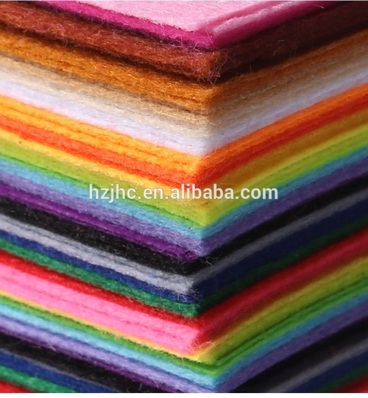 hard and thick needle punched felt 3mm/5mm,colored non-woven felt sheets for craft