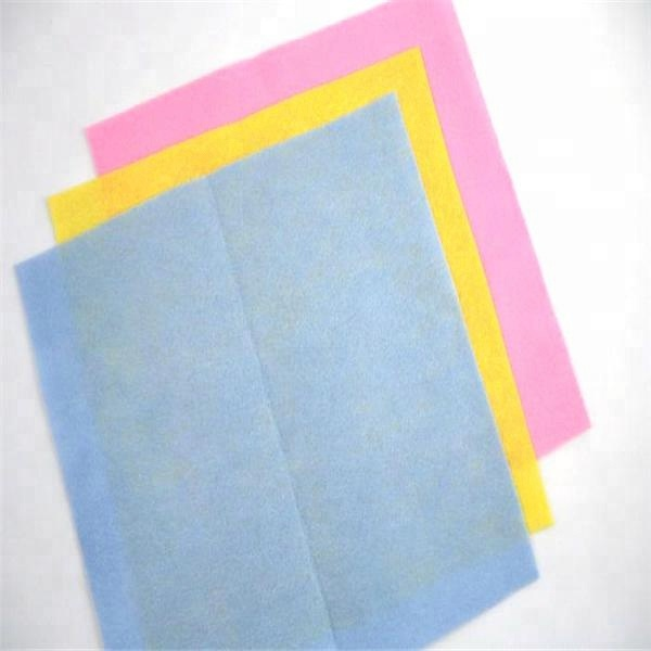 Non woven spunlace cleaning wipe for kitchen