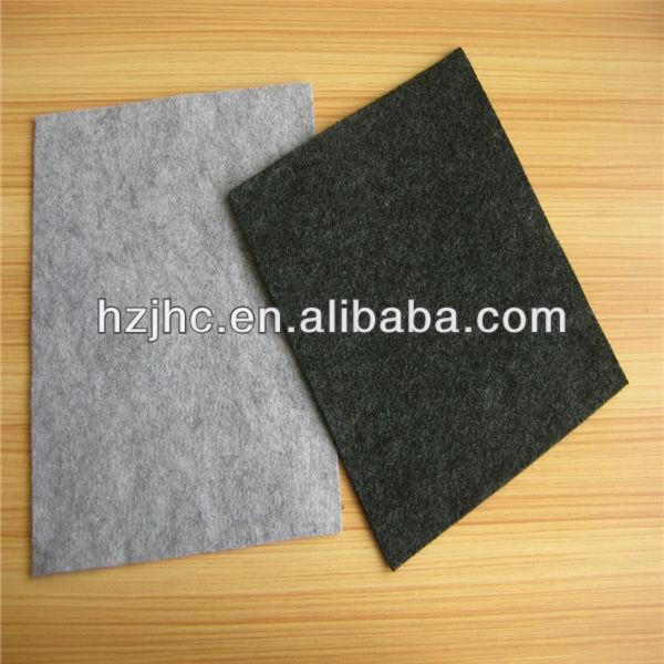 Whole sale plain needle felt fabric for laptop pouch / cover online