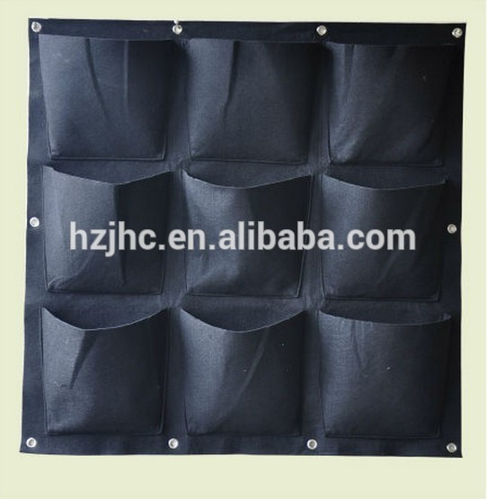 hydroponic garden non woven fabric felt vertical wall planter grow bag