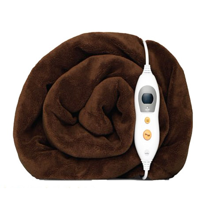 Wholesale 100% Wool Soft weighted electric heating blanket Featured Image