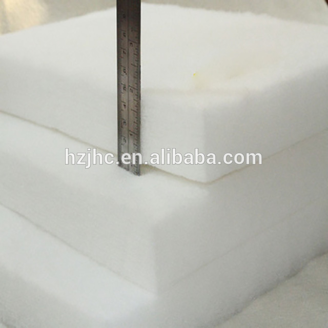 High quality flame retardant polyester fiber nonwovens