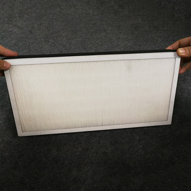 99.99% efficiency China HEPA Pleated Odor Removal air filter