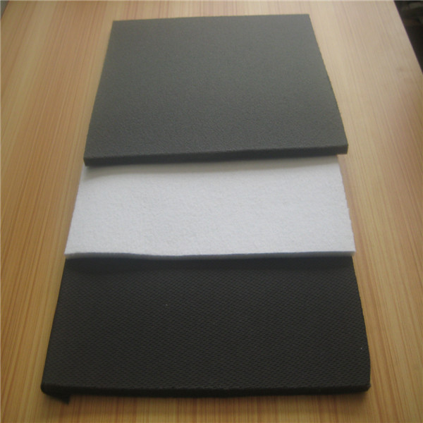 Waterproof breathable laminated foam fabric sheet