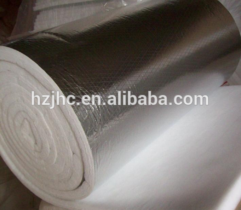 Heat insulation thick aluminum foil laminated fiberglass felt fabric