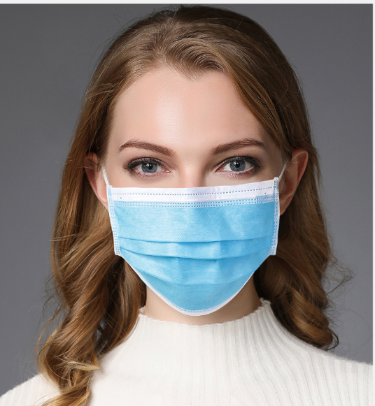 Nonwoven face mask / Disposable nonwoven face mask