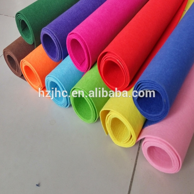 Needle Punched Technical Non-woven Fabric 100% Polyester Composition Felt Fabric