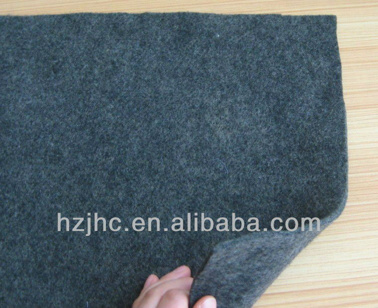 Thick insulation adhesive nonwoven polyester needle punched felt pad supplier