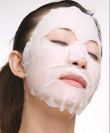 High quality spunlace disposable nonwoven facial mask fabric