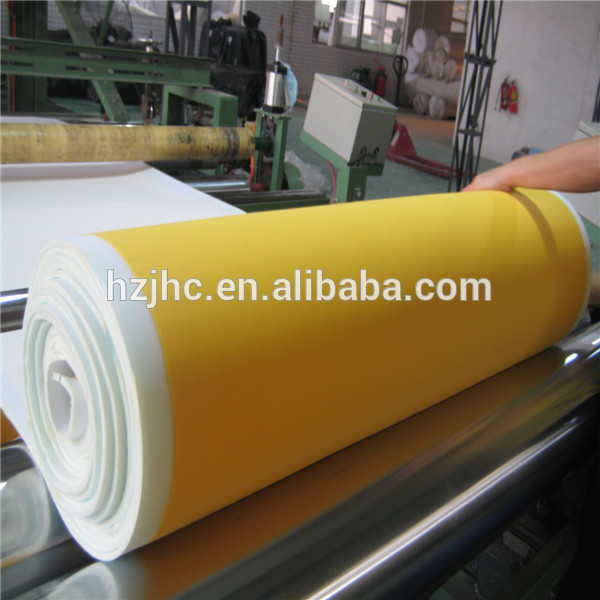 Environmental sponge laminated bra cup padding material