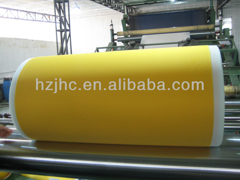 Custom thick PE Film , pe film laminated non woven fabric