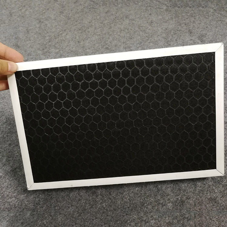 Hege efficiency Meitsje bestelle Active Carbon Non-woven loft filter