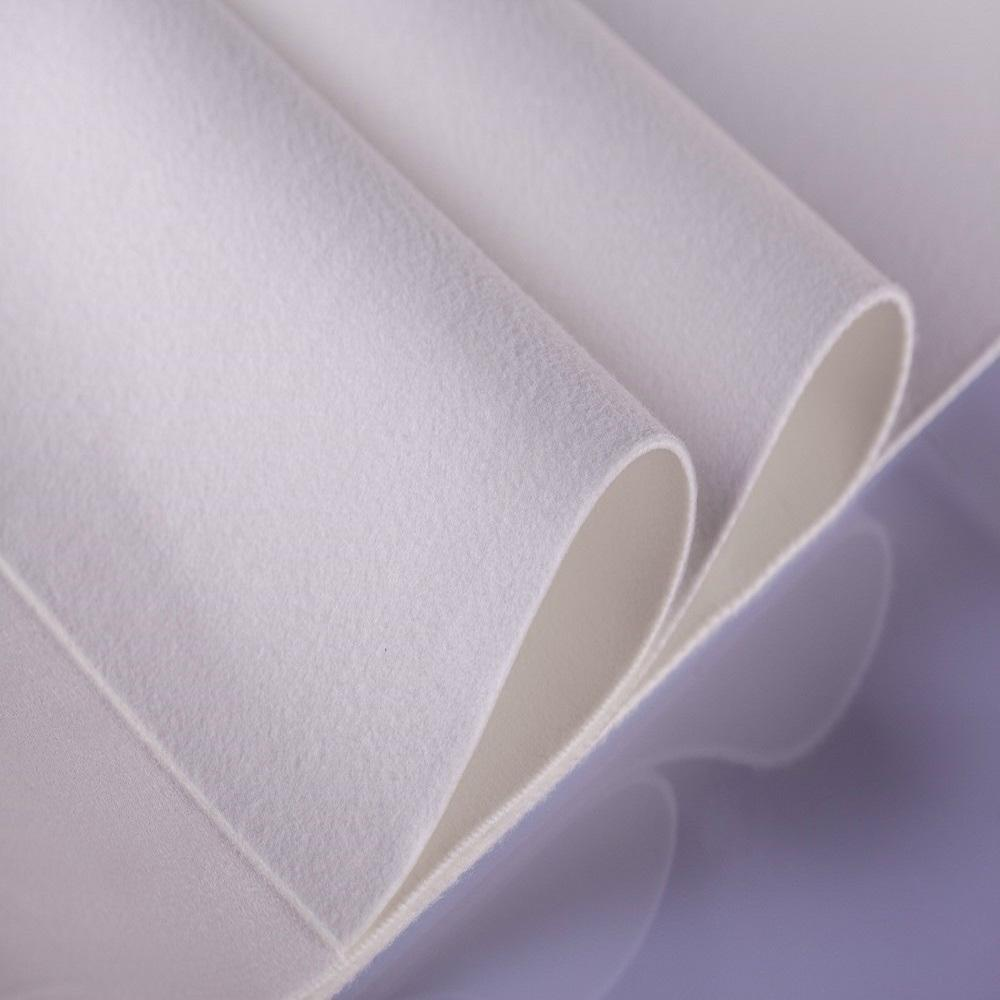 Non-woven fabric filter cloth
