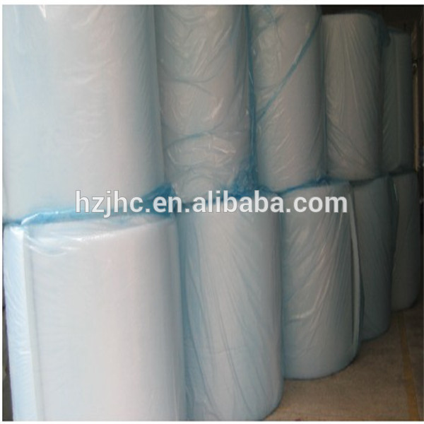 Non-woven needle punched felt fabric for acoustic board