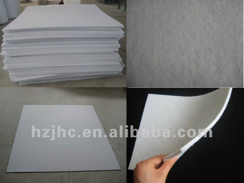 Air mattress filling no deformation nonwoven hard cotton wadding
