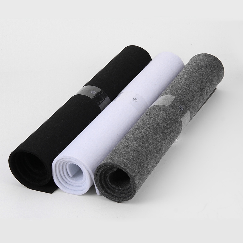 Thick needle punched non-woven fabric for speaker box
