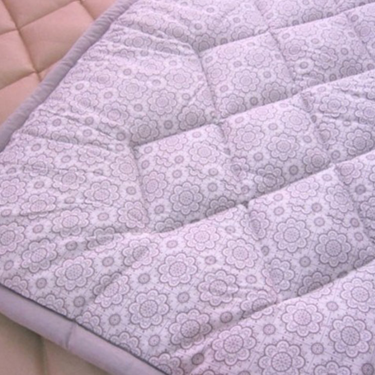 Skin friendly OEM ODM thin Mattress with flowers pattern